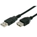 USB Cable 2.0 Type A Male to Female 2m