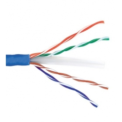 Category 6 Network Cable 305m Pull box Roll - Blue