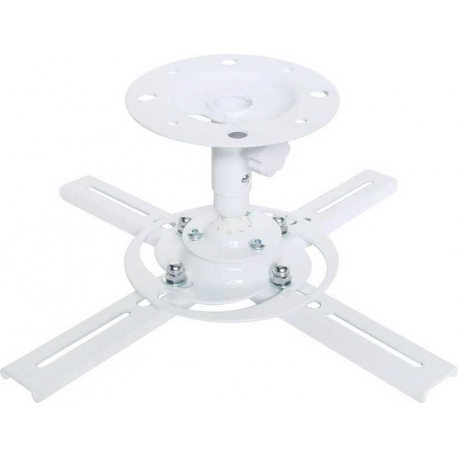 Projector Bracket White Ceiling Mount