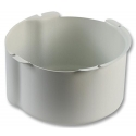 """Steel Firedome for 6"""" Ceiling Speakers, (White)"""