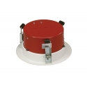 Bosch Steel Firedome to Suit LBC3086/41 Ceiling Speaker Red