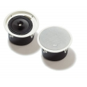 "Bosch 8"" 30W Premium‑Sound EVAC In-Ceiling Speaker Low Profile Version (2pcs)"