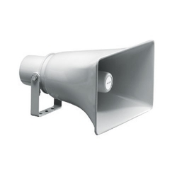 Rectangular Horn Speaker, Grey ABS, 10 Watts 100V Each