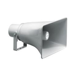 Rectangular Horn Speaker, Grey ABS, 10 Watts 100V Each
