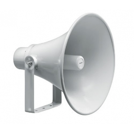 Round Horn Speaker, 400MM, Grey Aluminium/ABS, 30 W 100V Each
