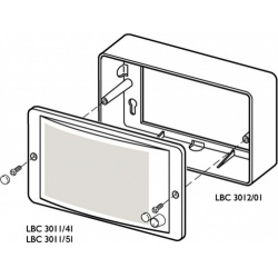 Surface Mounting Box For Panel Speaker