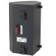 LB1-CW06-D 6 W Corner Cabinet Speaker Charcoal