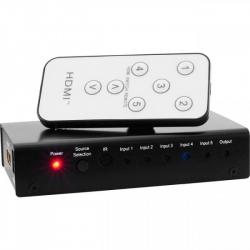HDMI Switch 5 Way With IR