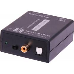 Convertor Stereo Analogue To Digital Audio