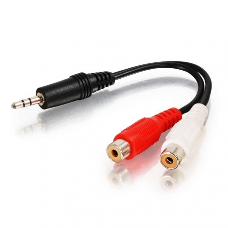 3.5mm Male Stereo To Twin RCA Female Adapter Lead