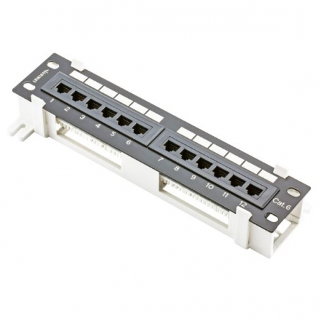 Wall Mount Patch Panel 12 Port Cat6