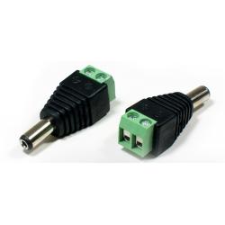 Power Screw Terminal To 2.5mm DC Plug