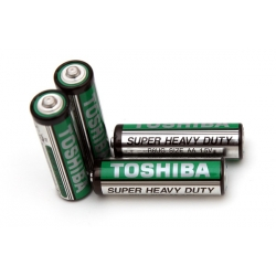 Toshiba AA Battery 4 Pack Super Heavy Duty