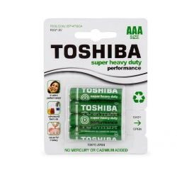 Toshiba AAA Battety 4 Pack Super Heavy Duty