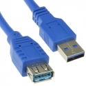USB 3.0 Cable Type A Male to Type A Female 3m