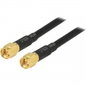 3m Low Loss L195 SMA Male To SMA Male Cable