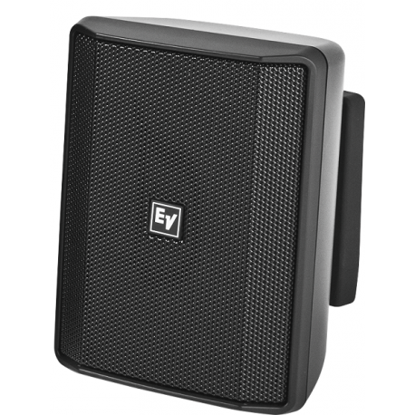 """Bosch 4"""" 40w IP Rated Surface Mount Speaker 8 Ohms -Smart Mount Included - Black (Pair)"""
