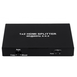 2 Way HDMI Splitter 4K/2K 3D Resolution