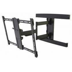 "TV Bracket Up To 85"" Screen Double Articulated Full Motion Heavy Duty 50kg 600 X 400 VESA"