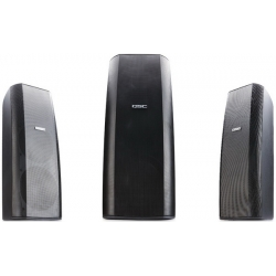 QSC AD-S282H, Dual 8-inch Two Way AcousticDesign™ Surface Mount Loudspeaker (Rotatable and (Inc. Yoke Mount)