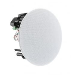 "Digital Life 6.5"" Glass Fibre Woven Bluetooth In-Ceiling Recessed Speakers with RCA Input (pair)"