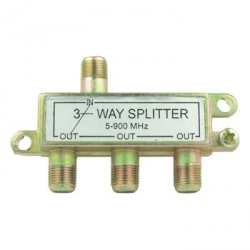 3 Way TV Splitter
