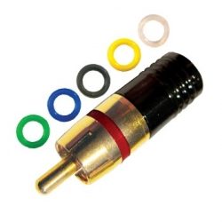 RCA Compression Connector Male
