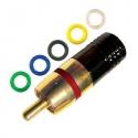 RCA Compression Connector Male