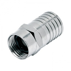 F-Type RG6 Crimp Connector