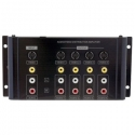 1 in 4 out Composite Video-Audio Distribution Amplifier