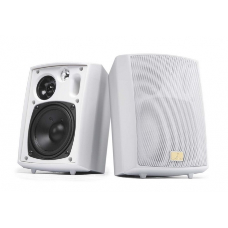 4 Inch Outdoor Speakers 3-Way Pair