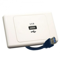Wall Plate USB with Tail
