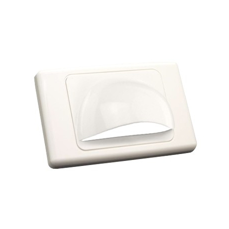 Small Bullnose Wall Plate
