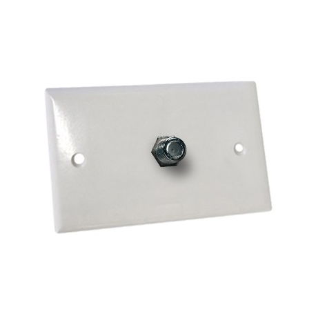 Wall Plate F-Type