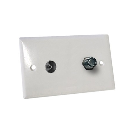 Wall Plate PAL and F Type