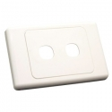 Wall Plate Double Gang