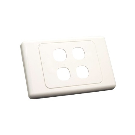Four Gang Wall Plate