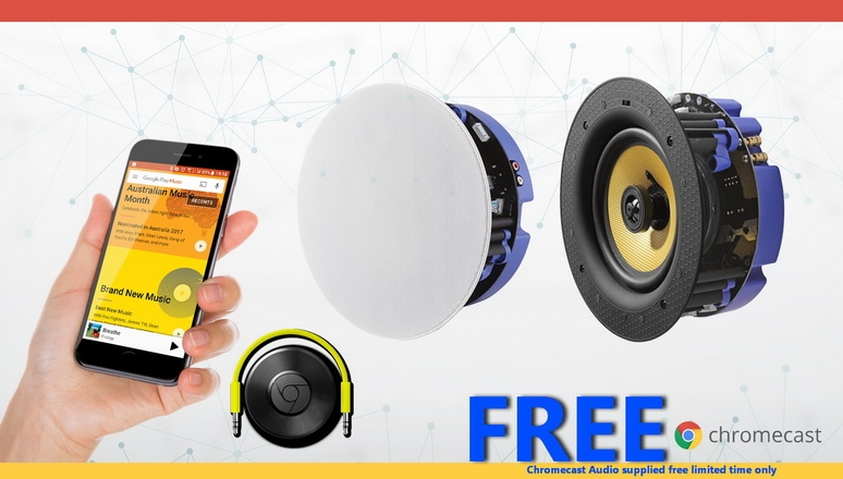 Chromecast Audio supplied FREE LIMITED TIME