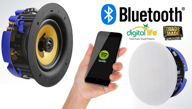 In Ceiling Bluetooth Speakers
